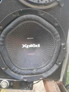 Tractor speaker buffer