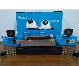 Hilook// paket lengkap kamera Cctv 2 MP online via HP