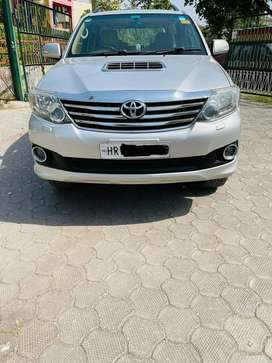 Toyota Fortuner 2011-2016 4x2 4 Speed AT, 2013, Diesel