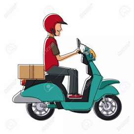 Courier delivery Boy
