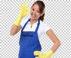 24 hrs female Maid requirement