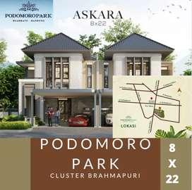 TERBATAS! Rumah di PODOMORO PARK BANDUNG! Cluster Premium BRAHMAPURI