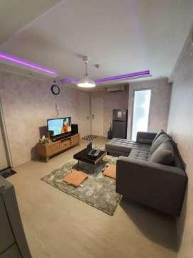 Dijual Murah Apartemen 3BR, Furnish mewah, free Wifi 1 Tahun, Basura