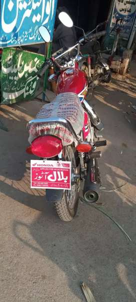 New honda cg 125 2020 model for sell