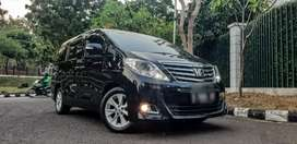 Toyota Alphard G ATPM Nik2012 Black Good Condition