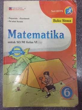 Buku Matematika Kelas 6 Mediatama