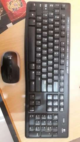 Wireless keyboard Mouse with Tabel