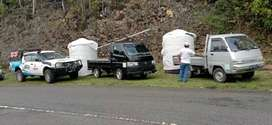 Tandon air 3000 liter cilacap toren hdpe tiga lapis bahan plastik