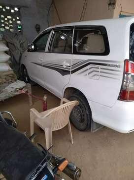 Innova govt officer used car best car
