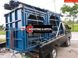 Cetakan panel.uditch box culvert pres batako d5