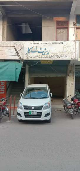 Shop+office double  story for Sale (Ali arcade opposi Khawaja center