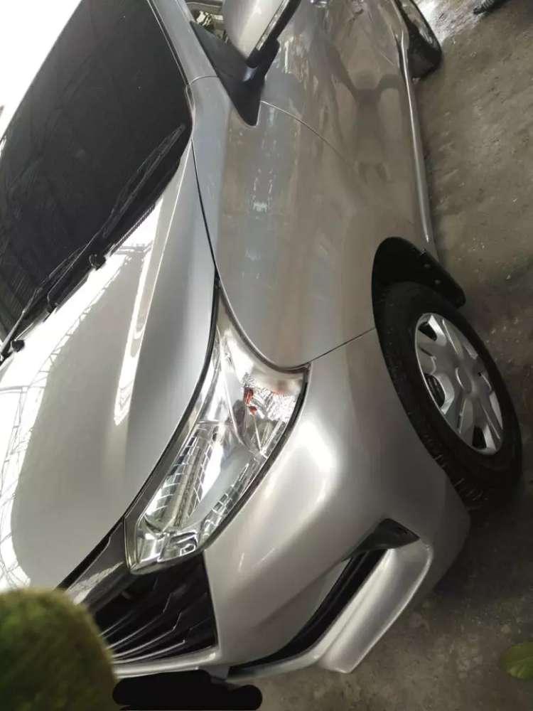 Daihatsu xenia th 2016  type D silver hrg 114 jt