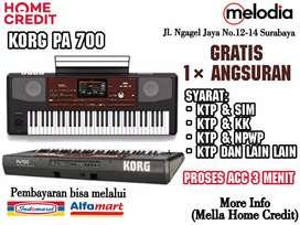 Promo Kredit Korg Pa 700 Gratis 1× Angsuran di Melodia Musik Surabaya