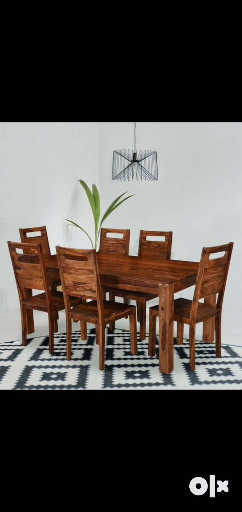 Dining Set-6 Seater in Solid Sheesham wood. Brand new PepperF Piece 0