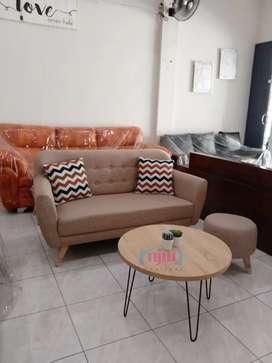 PROMO sofa tamu sweety mocca kualitas premium