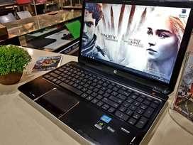 Laptop Hp Dv6  Core i7 Ram 8Gb Gaming dan Multimedia