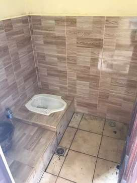 Di sewakan pertahun  2 kamar tidur  dan 1 kamar mandi tanpa dapur