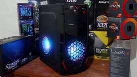 PC Komputer Gaming Editing Intel Skylake Feat RX 560 4GB DDR5 Sip siap