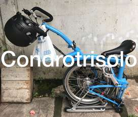 Brompton Rare Collection Blue Arctic P6R 2013