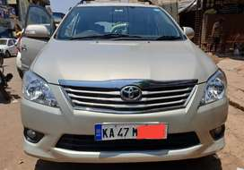 Toyota Innova vx 8 seater diesel 2013 topend for sale