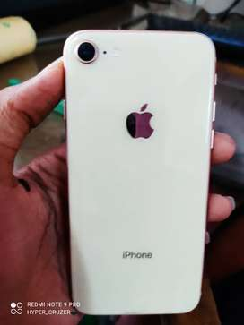 I phone 8 64gb phone neet and condition only cable