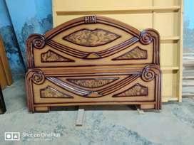 New - Teak wood heavy cot - Direct Factory Diwali Sale