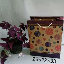 Paperbag L motif bali