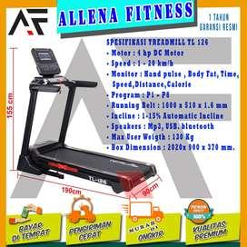 Alat Fittness Treadmill elektrik TL 126 - Treadmill Elektrik Murah
