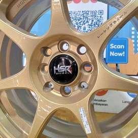 velg pelek mobil bisa cicilan R15 buat ignis datsun velos agya brio