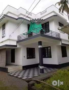 4.25 cent 1300 sqft 3 bhk  house at aluva near malikampeedika