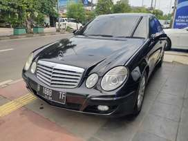 Mercy E280 AT 7 G tronic th 2009 km 78rb