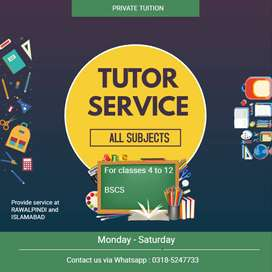 Tutor Available