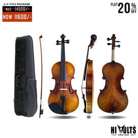 VIOLIN HI VOLTS V01A 4/4 PACKAGE AT 30% OFF