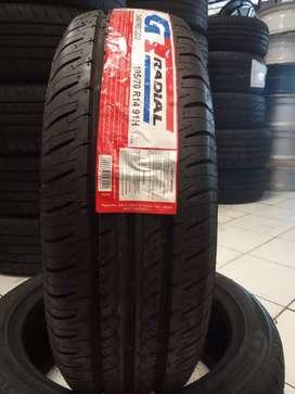 Readystock ban kualitas bagus GT Radial Champiro Eco 195 70 r14 lokal