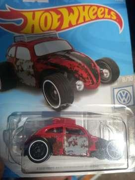Limited Diecast Hotwheels Volkswagen VW Beetle aka VW Kodok