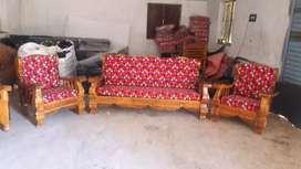 Discount sale in subashini Wooden Furniture budget sofa