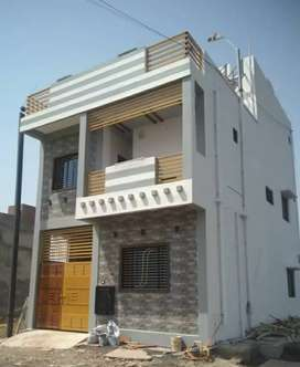 3 bhk independent Duplex only 23 lakh me