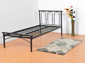 Wrought Iron Bed (Single)