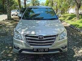 Kijang Innova 2.0 V Luxury MT 2014 Antik full orisinil