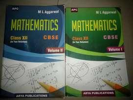 ML AGGARWAL MATHEMATICS CLASS 12 ( VOL. 1&2)