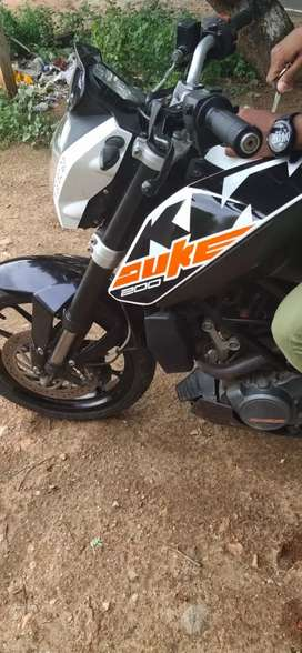 KTM 200 good condition , don't time waste only contact