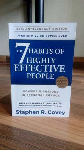 The 7 Habits of Highly Effective People - Stephen Covey [Brand New]