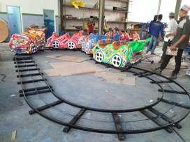 wahana permainan mini roller coaster odong kereta rel bawah lantai 11