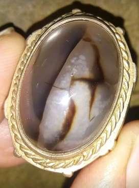 Batu akik antik gambar unik