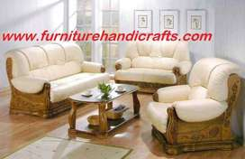 Brand new sheesham solid wooden sofa set