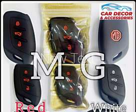 Silicone Key Cover For MG HS. Car Decor and Accessories.