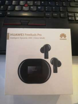 Huawei freebuds pro all in black