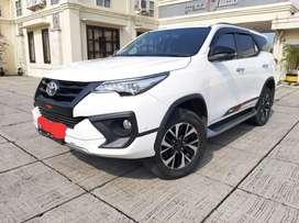Toyota Fortuner 2.4 VRZ TRD AT 2018  Km 22rb TDP 119jtan