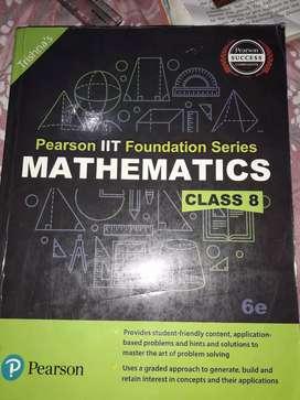Trishna's Pearson IIT Foundation Series MATHEMATICS ( Class 8 )