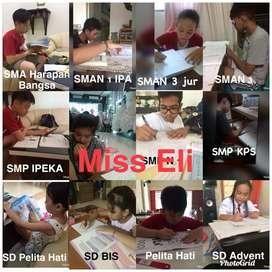 Private SD, SMP, SMA kerumah anda